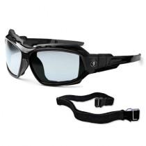 Skullerz® Loki Safety Glasses/Sunglasses, Black Frame, I/O Lens Color