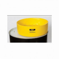 Eagle Manufacturing 1662 Drum Funnel With Screen -  30 and 55 gal Drums -  18 in L x 7 in H