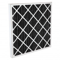 "Air Filter, Carbon Pleated, 16"" x 16"" x 2"""
