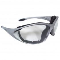 DEWALT DPG95 Framework™ Safety Glasses, Silver Frame, Clear AF Lens