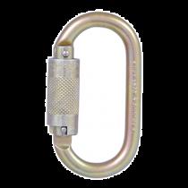 "Twist Lock Carabiner, 1/2"" Gate"