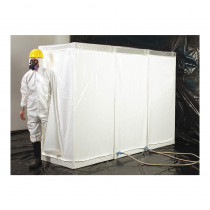 Grayling™ 1002002 Disposable Decontamination Shower -  Clean -  Shower -  Equipment Room -  37 in L x 37 in W x 77 in H -  PVC