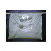 Avail™ PC4006060 High Temperature Asbestos Glovebag -  60 in L x 60 in W -  Vertical/Horizontal