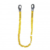 Guardian Fall Protection 11203 Light Weight Internal Shock Lanyard -  130 - 310 lb Load -  6 ft L -  2 Legs
