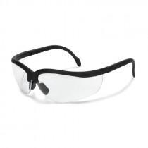 Radians® Journey® Safety Glasses, Black Frame, Clear Lens