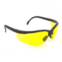 Radians® Journey® Safety Glasses, Black Frame, Amber Lens