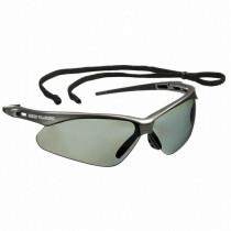Nemesis™ Safety Glasses, Gunmetal Frame, Smoke Polarized Lens