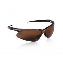 Nemesis™ Safety Glasses, Brown Frame, Brown Polarized Lens