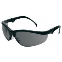 MCR Safety Klondike® KD3 Safety Glasses, Black Frame, Gray Anti-Fog Lens