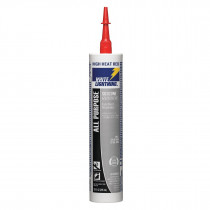 Silicone High Temp Red 1/10 Tube