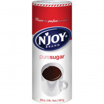 N'Joy Pure Cane Sugar, 20 oz Canister, 1-EA