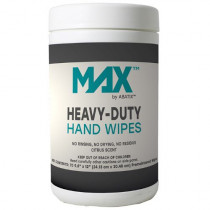 MAX™ by ABATIX™  Citrus Scented Hand Wipes - Grease Cutting