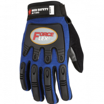 B100 ForceFlex® - Multi-Task - Premium Grade Leather Palm Gloves - Suede Synthetic Leather Palm