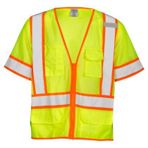 ML Kishigo (1242) Safety Vest, Type R, Class 3, Zipper w/Logo