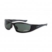 CrossFire® MP7 Safety Eyewear, Black Frame, Blue-Green Polarized Lens (no foam lining)