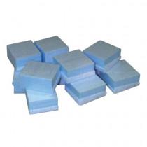 Blue Stryofoam® Furniture Snap Blocks, 2 in x 2 in x 1 in, Blue
