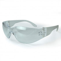 Radians® Mirage™ Safety Glasses, Clear Frame and Lens