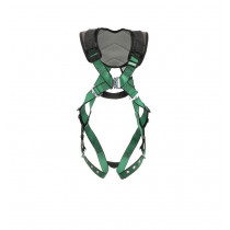 V-FORM+ Full Body Safety Harness, Back D-Ring, Tongue & Buckle Leg Straps