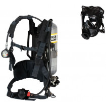 AirHawk® II Air Mask, with 4500psig Carbon-wrapped Cylinder