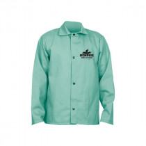 Memphis 39030 Welding Jacket With Inside Pocket -  M -  46 in Chest -  Green -  L/F Cotton/Fabric Whipcord
