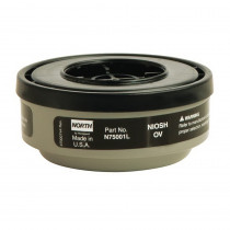 North® by Honeywell N75001L APR Cartridge -  For Use With 5400 -  5500 -  7600 and 7700 Series Respirators -  Organic Vapors