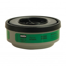 North® by Honeywell N75004L APR Cartridge -  For Use With 5400 -  5500 -  7600 and 7700 Series Respirators