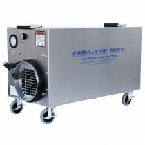 OmniAire OA600V HEPA Negative Air Machine, 600 cfm