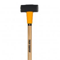 """Toughstrike American Hickory 8 lb Sledge Hammer, 36"""" Handle"""