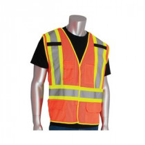 PIP® (302-0212) Two-Tone Safety Vest, Type R, Class 2, Breakaway