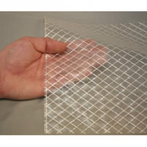 Reinforced Poly Enclosure Film, 6 mil, 20' x 100', Clear