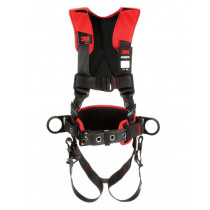 Protecta® Comfort Construction Style Positioning Harness 1161208, Black, 2X