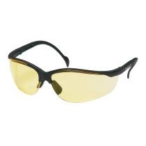Pyramex® Venture II® Safety Glasses, Black Frame, Amber Lens