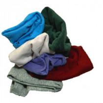 Color T-Shirt Rags 10 lb Box