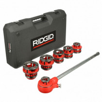 "RIDGID® (36475) Exposed Ratchet Threader Set, 12-R NPT, 1/2""-2"" Capacity"