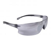 Radians® Rad-Sequel™ Safety Glasses, Smoke Frame, Silver Mirror Lens