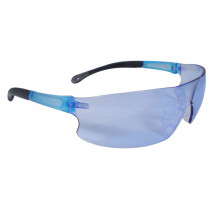 Radians® Rad-Sequel™ Safety Glasses, Light Blue Frame and Lens
