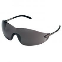 MCR Safety S21 Series Safety Glasses, Frameless Design, Gray Anti-Fog Lens