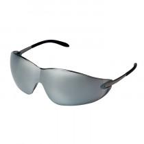 MCR Safety S21 Series Safety Glasses, Frameless Design, Silver Mirror Lens