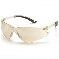 Pyramex® Itek® Frameless Safety Glasses, Indoor/Outdoor Mirror Lens & Temples