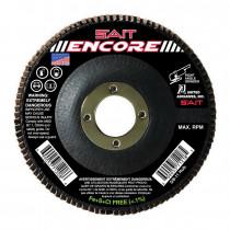 SAIT® 71208 Flat High Performance Type 27 Coated Flap Disc 10 per BX -  4-1/2 in Dia -  7/8 in -  60 Grit -  Coarse Grade