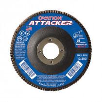 SAIT® 76209 Flat High Performance Type 27 Coated Flap Disc -  4-1/2 in Dia -  7/8 in -  80 Grit -  Medium Grade
