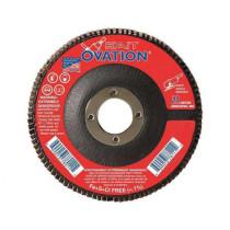 SAIT® 78009 Flat High Performance Type 27 Coated Flap Disc 10 per BX -  4-1/2 in Dia -  7/8 in -  80 Grit -  Medium Grade
