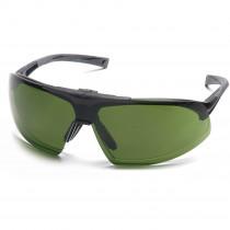 Pyramex® Onix Plus™ Safety Glasses, Clear H2X Anti-Fog Lens, Flip Up 3.0 IR Filter Lens
