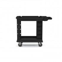 "Suncast Commercial Two-Tier Heavy Duty Utility Cart, 19.5""x41.78"""