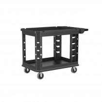 "Suncast Commercial Two-Tier Heavy Duty Utility Cart, 26.5""x48.78"""