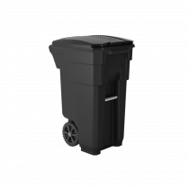 Suncast Commercial Wheeled Trash Can, 32 gal