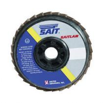 UA® 73460 Flat High Performance Type 27 Coated Flap Disc, 4-1/2 in Dia -  7/8 in -  60 Grit -  Coarse Grade