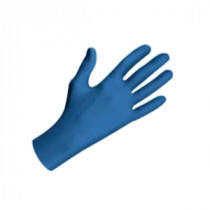 Showa Best® 9005PFXL Medical Grade Disposable Gloves -  XL -  Blue -  Hand Specific -  Nitrile