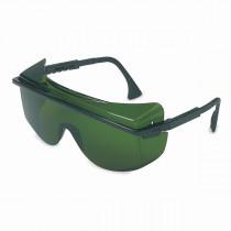 Uvex® Astro OTG® 3001 Protective Glasses, Black Frame, Shade 3.0 Infra-Dura Lens