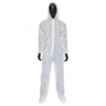 U1600 Heavy Weight SBP Coverall w/Attached Hood & Boot